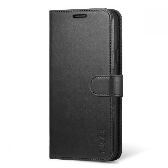"""TUCCH Galaxy S9 Plus Hülle, Das handyhülle mit TPU-Kunststoff [Magnetverschluss] [Kartenfächern] [Standfunktion] [Premium Leder] Wallet case Schutzhülle für Samsung Galaxy S9 Plus 2018 (6,2"""")"""