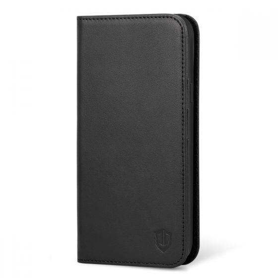 SHIELDON Samsung S9 Plus Brieftasche Hülle, Galaxy S9 Plus Ledertasche mit Ständer und Magnetverschluss