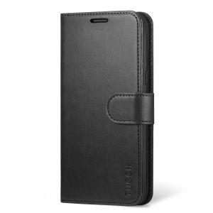 """TUCCH Samsung Galaxy S8 Hülle, Brieftasche Hülle mit integrierten kartenfächer, Standfunktion, Premium Leder Schutzhülle für Samsung Galaxy S8 (5,8"""")"""