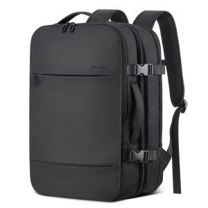 SHIELDON Reiserucksack, Supergroß Laptop Rucksack, 17 Zoll Erweiterbar Diebstahlsicher Wasserabweisend Daypack, Handgepäck Rucksäcke im Flugzeug, Backpack für Bissness Travel Ourdoor, 23L-38L