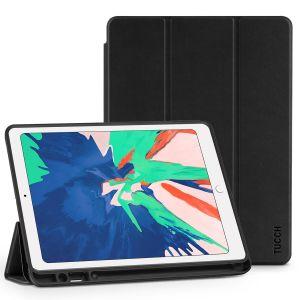 TUCCH Hülle für iPad Air 3 2019, 10.5 Zoll Schutzhülle [Softer TPU] Smart Case Hüllen mit [Pencil Halter] [Stand] [Auto Schlaf-/Aufwachfunktion] Schnelle Wärmeableitung Staubdicht Dünnes Cover