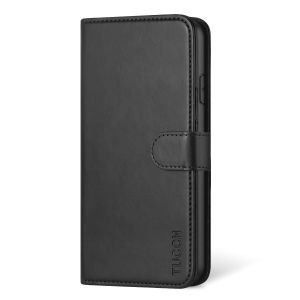 TUCCH iPhone XI Pro Max Wallet Case, iPhone 11 Pro Max Leather Case, Folio Flip Cover with RFID Blocking, Stand, Credit Card Slots, Magnetic Closure, Support Wireless Charging