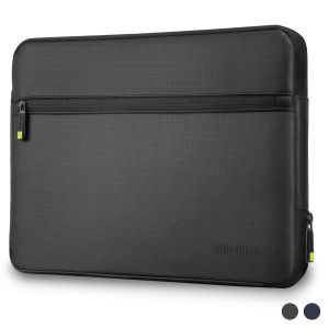 SHIELDON Laptop Sleeve Water Repellent, 13.5 Inch Laptop Case Briefcase with Extra Zip Pocket, Protective Carrying Computer Bag for MacBook Air/Macbook Pro/HP/Dell/Lenovo Laptop