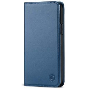 SHIELDON iPhone 11 Pro Wallet Case, Genuine Leather, Auto Sleep/Wake, RFID Blocking, Magnetic Closure - Royal Blue