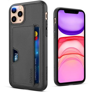 SHIELDON iPhone 11 Pro Max Case, iPhone 11 Pro Max Wallet Case 2019 with [Wireless Charging][Card Slots][Protective Air-pocket Corners] Compatible with iPhone 11 Pro Max (6.5 Inches)