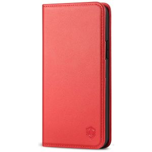 SHIELDON iPhone 12 Pro Max Wallet Case - iPhone 12 Pro Max 6.7-inch Folio Leather Case Cover - Red
