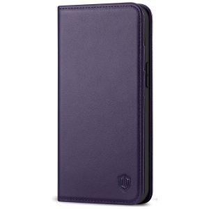 SHIELDON iPhone 12 Mini Wallet Case - Mini iPhone 12 5.4-Inch Folio Case - Dark Purple