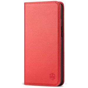 SHIELDON iPhone 12 Mini Wallet Case - Mini iPhone 12 5.4-inch Folio Case - Red