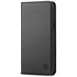 SHIELDON iPhone 13 Pro Max Wallet Case, iPhone 13 Pro Max Genuine Leather Cover with RFID Blocking, Book Folio Flip Kickstand, Magnetic Closure for iPhone 13 Pro Max 6.7-inch 5G