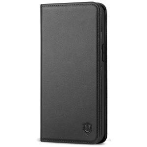 SHIELDON iPhone 13 Mini Wallet Case - Mini iPhone 13 5.4-inch Folio Book Flip Cover - Black