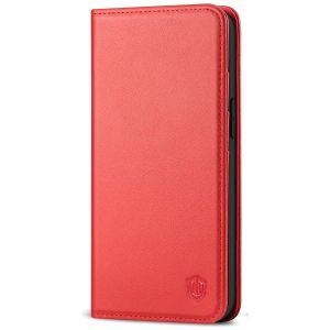 SHIELDON iPhone 13 Mini Wallet Case - Mini iPhone 13 5.4-inch Folio Book Flip Cover - Red