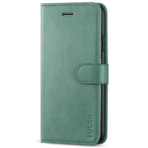 TUCCH iPhone 8 Plus Wallet Case, iPhone 7 Plus Case, Premium PU Leather Flip Folio Case - Myrtle Green