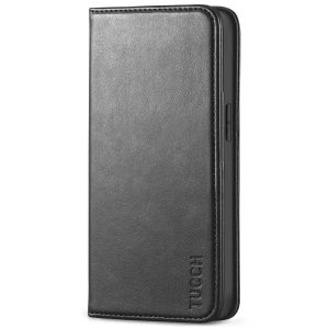 TUCCH iPhone 13 Pro Max Leather Case, iPhone 13 Pro Max PU Leather Wallet Case, Stand Folio Flip Book Cover with Credit Card Slots, Magnetic Closure for iPhone 13 Pro Max 6.7-inch 5G