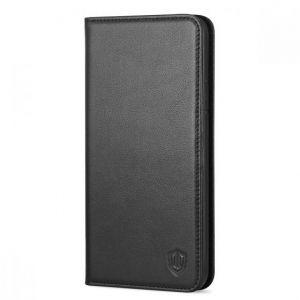 iPhone 8 Plus Hülle, iPhone 7 Plus Hülle, SHIELDON Echt Leder Tasche für iPhone 7/8 Plus (5.5 Zoll) Handyhülle im Bookstyle mit Magnet Kartenfächer Standfunktion