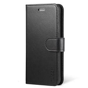 TUCCH iPhone XS Max Brieftasche Hülle Schutzhülle, Lederhülle für iPhone 10S Max (6,5) mit RFID- und TPU-Schutz, Aufstellfunktion, Kartenfach und Magnetverschluss