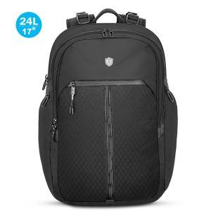 SHIELDON Rucksack Laptop 17,3 Zoll, Rücksack Herren, Daypack für MacBook, Reiserucksack Wasserdicht Backpack, Wärmeableitung, Leichte Rucksäcke 24 Lite für Reise Bissness, (Männer)