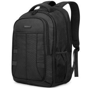 SHIELDON Laptop Rucksack 15,6 Zoll, Reiserucksack Herren, Ultra Groß Daypack für MacBook, RFID Rücksack für Notebook 15-15,6, Wasserdicht Backpack Wärmeableitung für Travel Bissness, (Männer)