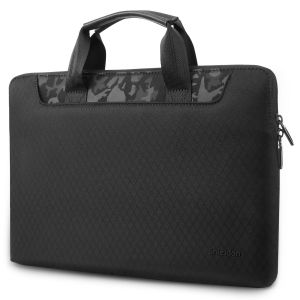 SHIELDON Laptop Tasche 13-13,3 Zoll, Sleeve Case, Schutzhülle Wärmeableitung, Wasserabweisende Stoßfeste Laptophülle Kompatibel mit MacBook Air/Pro Retina/iPad Pro 12,9 / Surface Laptop