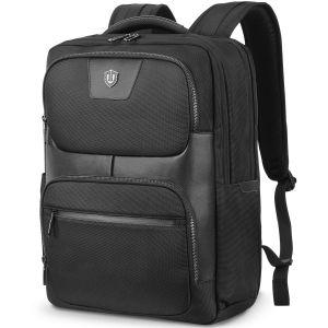 SHIELDON Laptop Rucksack 15,6 Zoll, Reiserucksack Herren, Groß Daypack für Notebook 15 Zoll, Schulrucksack RFID, Anti-Diebstahl Wärmeableitung Backpack für Reisenl Bissness Männer, (23L)