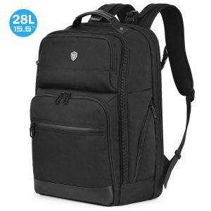 SHIELDON Laptop Rucksack 15-15,6 Zoll, Reiserucksack Herren, Ultra Groß Daypack für MacBook, RFID-Schutz von Bankkarteninformationen, Wärmeableitung Backpack für Travel Bissness, (28L)
