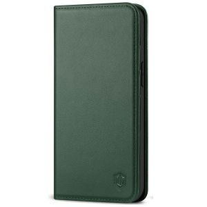 SHIELDON iPhone 12 Mini Wallet Case - Mini iPhone 12 5.4-inch Folio Case - Midnight Green