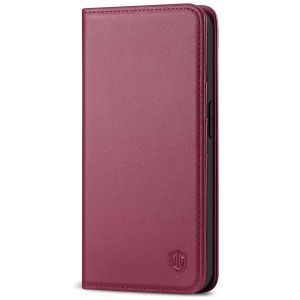 SHIELDON iPhone 12 Mini Wallet Case - Mini iPhone 12 5.4-inch Folio Case - Red Violet