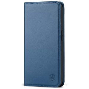SHIELDON iPhone 13 Mini Wallet Case - Mini iPhone 13 5.4-inch Folio Book Flip Cover - Royal Blue