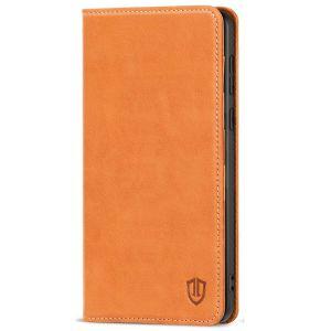 SHIELDON SAMSUNG GALAXY S20FE Folio Case Wallet Case, SAMSUNG GALAXY S20FE Genuine Leather Wallet Case - Brown