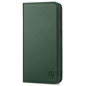 SHIELDON SAMSUNG S21 Plus Wallet Case - SAMSUNG Galaxy S21 Plus 6.7-inch Folio Leather Case - Midnight Green