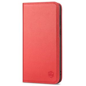 SHIELDON SAMSUNG S21 Plus Wallet Case - SAMSUNG Galaxy S21 Plus 6.7-inch Folio Leather Case - Red