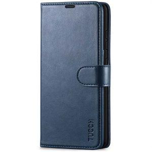 TUCCH SAMSUNG GALAXY A52 Wallet Case, SAMSUNG A52 Flip Case 6.5-inch - Blue