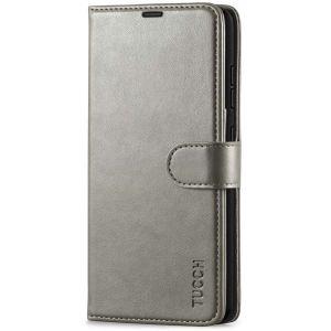 TUCCH SAMSUNG GALAXY A52 Wallet Case, SAMSUNG A52 Flip Case 6.5-inch - Grey