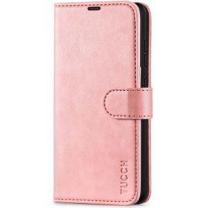 TUCCH SAMSUNG GALAXY A52 Wallet Case, SAMSUNG A52 Flip Case 6.5-inch - Rose Gold