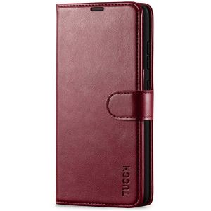 TUCCH SAMSUNG GALAXY A52 Wallet Case, SAMSUNG A52 Flip Case 6.5-inch - Wine Red