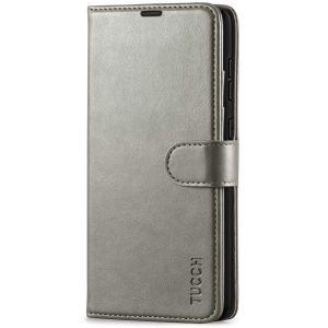 TUCCH SAMSUNG GALAXY A72 Wallet Case, SAMSUNG A72 Flip Case 6.7-inch - Grey
