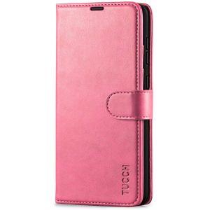TUCCH SAMSUNG GALAXY A72 Wallet Case, SAMSUNG A72 Flip Case 6.7-inch - Hot Pink