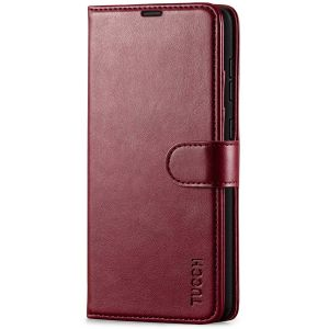 TUCCH SAMSUNG GALAXY A72 Wallet Case, SAMSUNG A72 Flip Case 6.7-inch - Wine Red