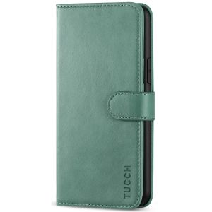 TUCCH iPhone 11 Pro Wallet Case with Strap, iPhone 11 Pro Stand Case with Card Holder - Myrtle Green