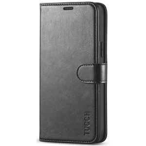 TUCCH iPhone 12 Wallet Case, iPhone 12 6.1 PU Leather Case, Folio Flip Cover with RFID Blocking, Stand, Credit Card Slots, Magnetic Clasp Closure for iPhone 12 5G 6.1-inch