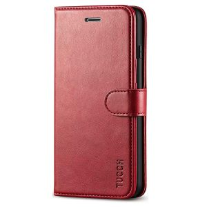 TUCCH iPhone 8 Plus Wallet Case, iPhone 7 Plus Case, Premium PU Leather Flip Folio Case