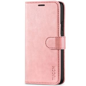 TUCCH iPhone XR Wallet Case - iPhone XR Leather Cover - Rose Gold