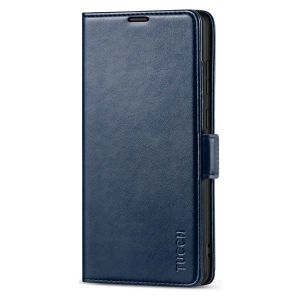 TUCCH SAMSUNG Galaxy Note20 Ultra Wallet Case, SAMSUNG Note20 Ultra 5G Flip Cover Dual Clasp Tab-Dark Blue