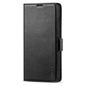 TUCCH SAMSUNG Galaxy Note20 Ultra Wallet Case, SAMSUNG Note20 Ultra 5G Flip Cover with Dual Magnetic Clasp Tab Card Slots TPU Shockproof Case Stand 6.9-Inch