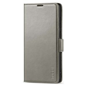 TUCCH SAMSUNG Galaxy Note20 Ultra Wallet Case, SAMSUNG Note20 Ultra 5G Flip Cover Dual Clasp Tab-Grey