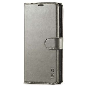 TUCCH SAMSUNG S21FE Wallet Case, SAMSUNG Galaxy S21 FE Case with Magnetic Clasp - Grey