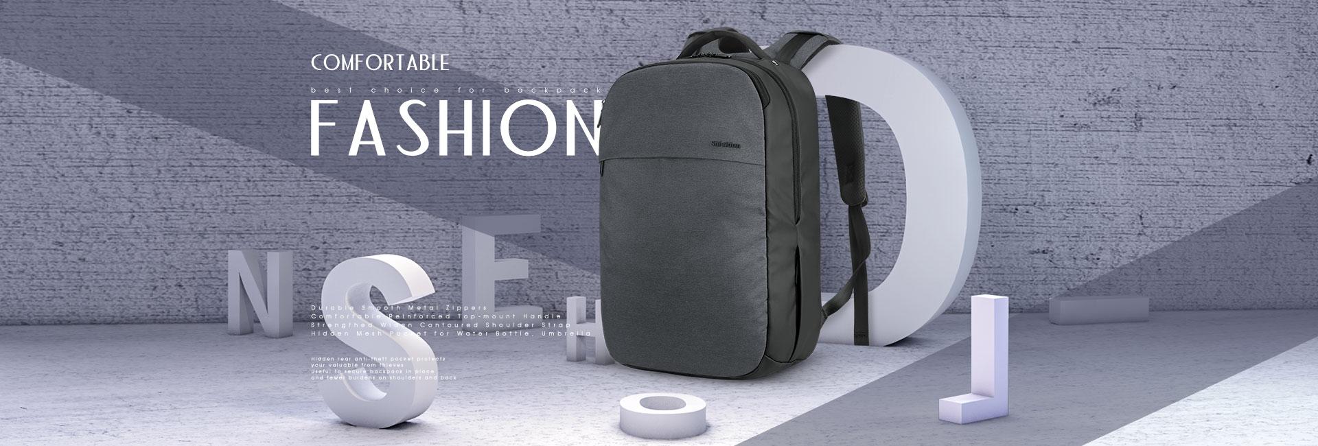 SHIELDON Rucksack Damen Herren Rucksäcke Laptop 15.6 Zoll, Business Backpack Reiserucksack für Studenten Mädchen Kinder